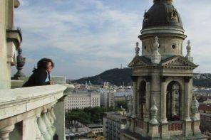 Katie in Hungary