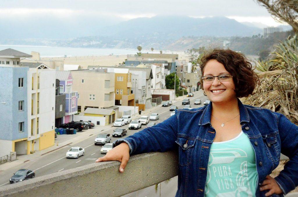 Photo of Katie in Santa Monica