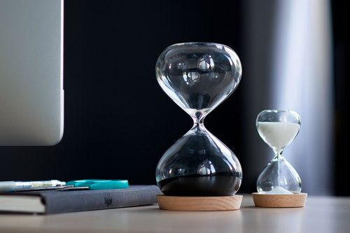 Magnetic Hourglass Productivity Timer